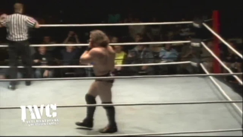 IWC No Excuses 2012 Dalton Castle vs Logan Shulo
