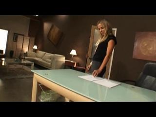 Начальник трахает Секретаршу Kayla Synz  (Cumshot, секс, sexwife, 2019, зрелая)