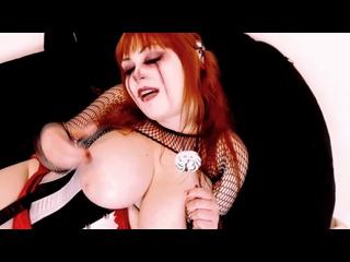 MinaDemonic Geiler Dirty Talk von sexy Gothic Clown lässt dich abspritzen сексуального готического клоуна позволяет кончить!
