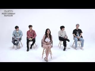 [РУС.САБ.] K-pop stars blind date  (Kriesha Chu, Kanto, GunMin, Gree, Marco)