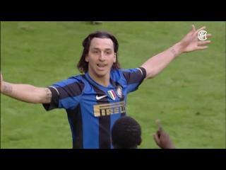 """Все голы """"Интера"""" в сезоне 2008/2009. Ибрагимович, Адриано, Майкон, Фигу и многие другие..."""