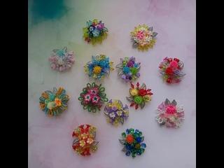 Представляю коллекцию детских брошей в технике плетения.  Материалы: металлофурнитура, полимерная глина, акрил. Цена - 500-600 р