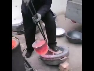 Изготовление тазов из алюминиевых банок bpujnjdktybt nfpjd bp [ ,fyjr