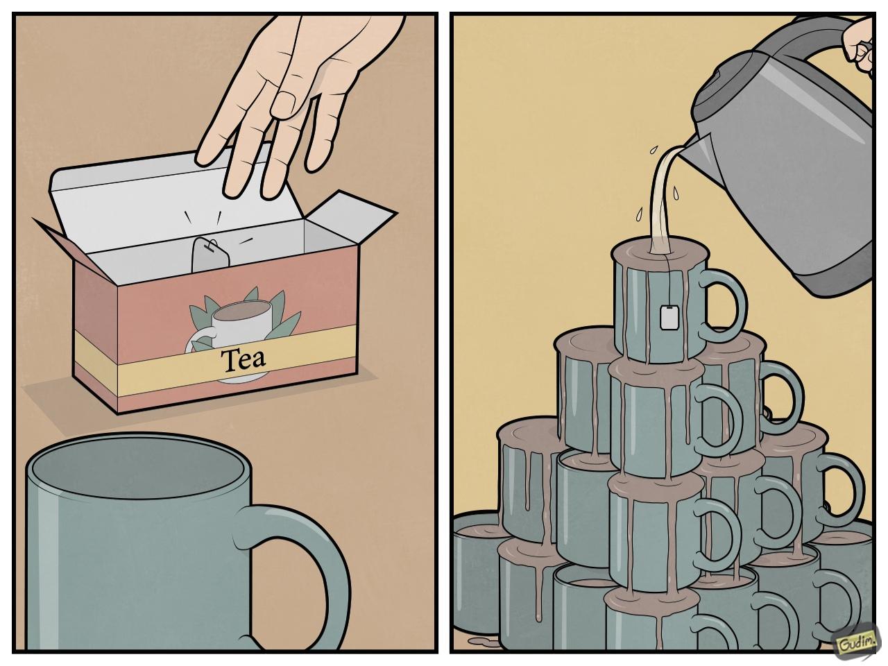 Последний пакетик чая