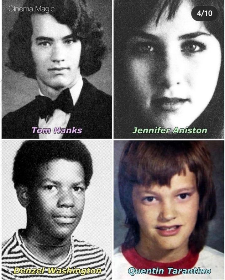 Школьные фото голливудских звезд