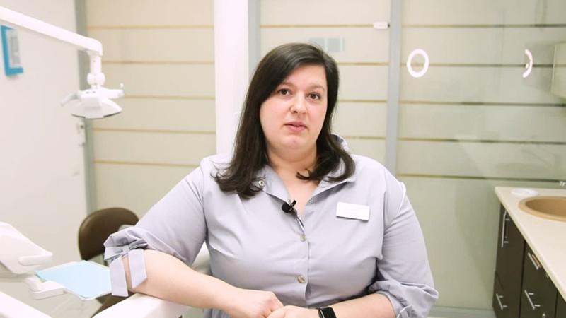 ВИДЕОВИЗИТКА Заведующая детским отделением врач стоматолог терапевт детский врач Ольга Сергеевна Вишневская