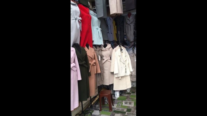 Видео от Женское пальто
