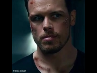 Just over here watching @SamHeughan spit out gum all-day ️Watch Bloodshot on Digital Now, Blu-ray DVD 55! -