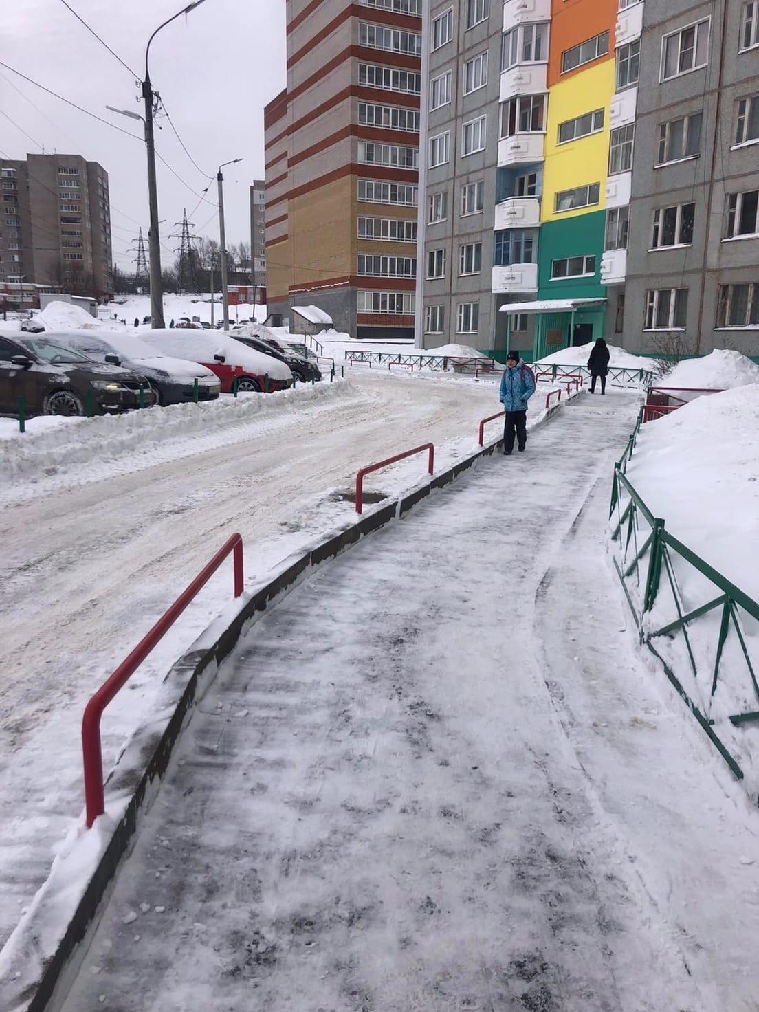 Улица Ульяновская дом 6 механизированная уборка