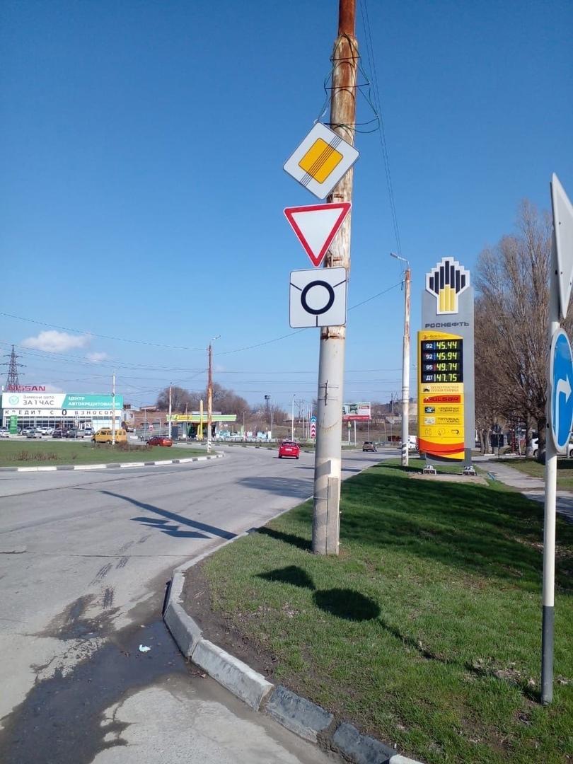 Информация о работах по обеспечению безопасности дорожного движения в Таганроге за I квартал 2021 года