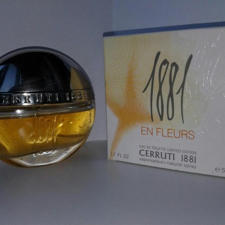 Cerruti 1881 En Fleurs 50 ml 1590 рублей.