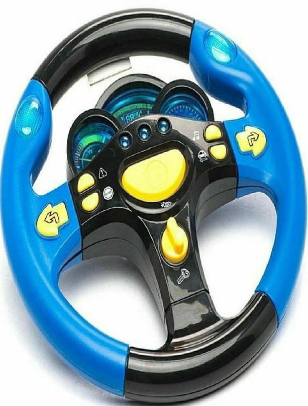 """Детский интерактивный руль игрушка """"Я тоже рулю""""."""