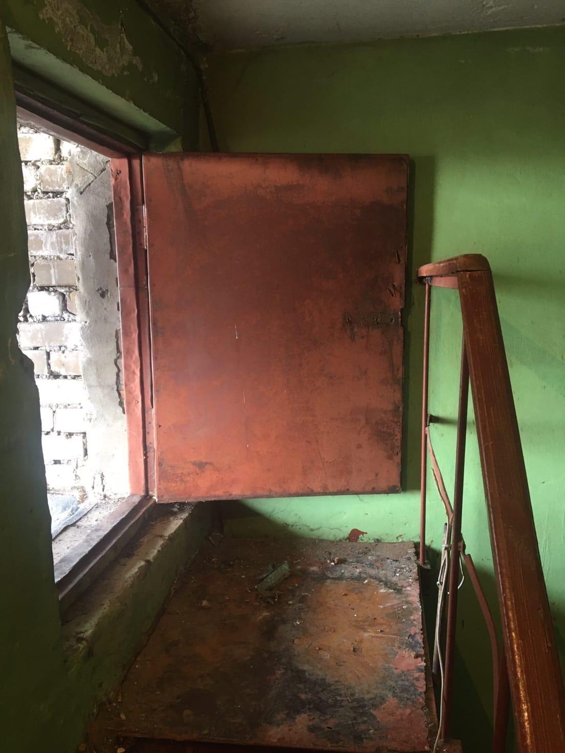 Улица Физкультурников дом 2 ремонт двери выхода