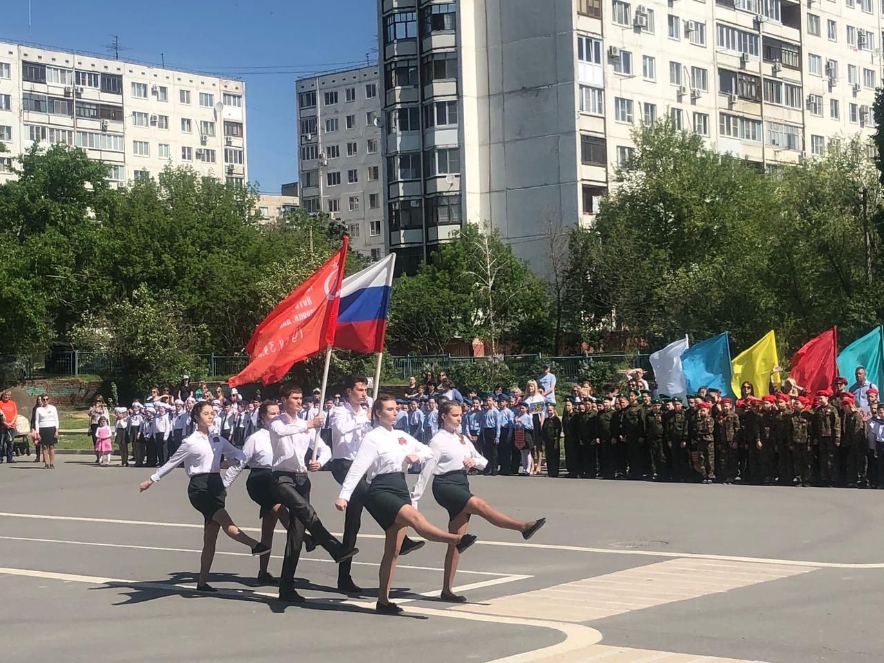 14 мая 2021 года в Лицее впервые прошел парад