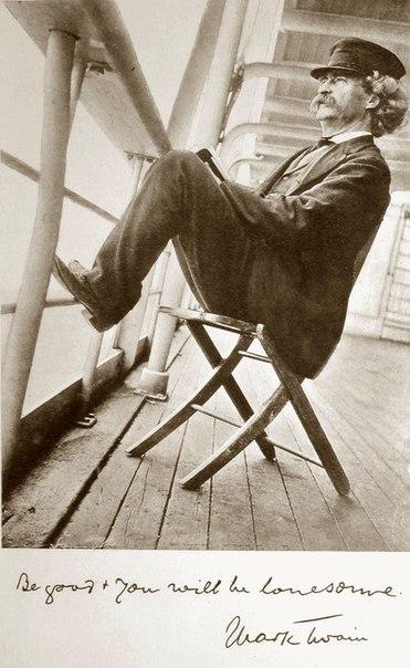 «Папа» Тома Сойера и Гекльберри Финна Марк Твен был не только одним из самых остроумных авторов всех времен, но и большим шутником