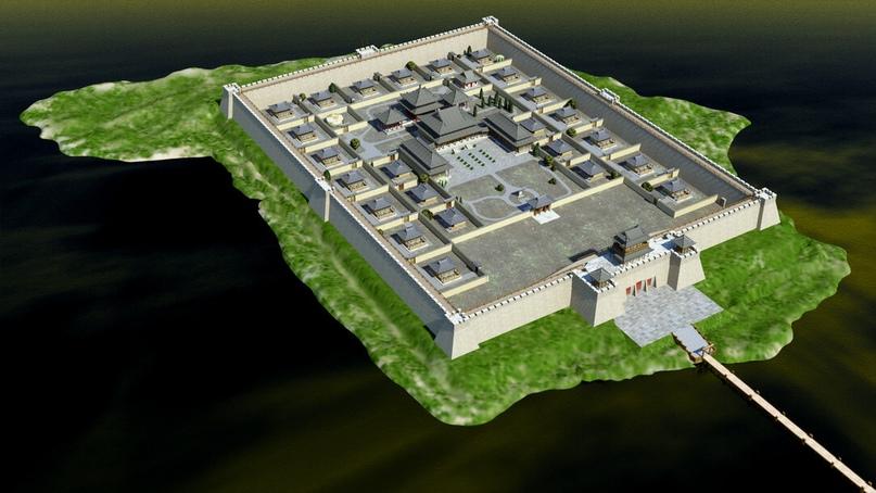 Тайна древней крепости Пор-Бажын, построенной на острове в сибирском озере, изображение №2