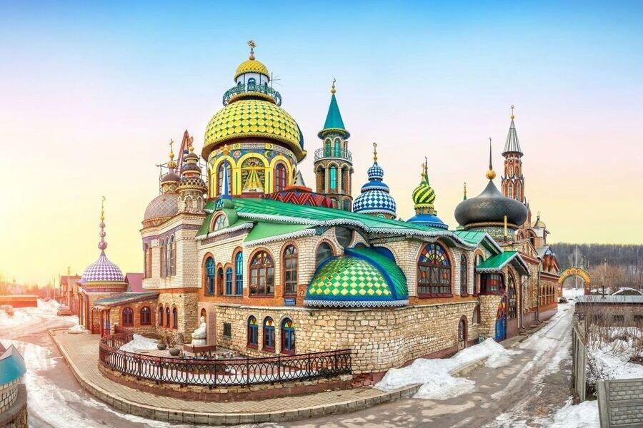 2021-11, Тур в Казань в ноябре (Свияжск, Раифа, Вселенский храм), 3 дня (B)