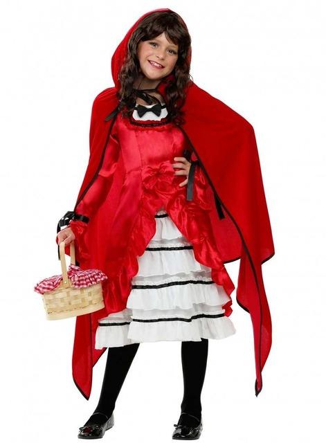 Как сделать костюм Красной Шапочки для детей и взрослых