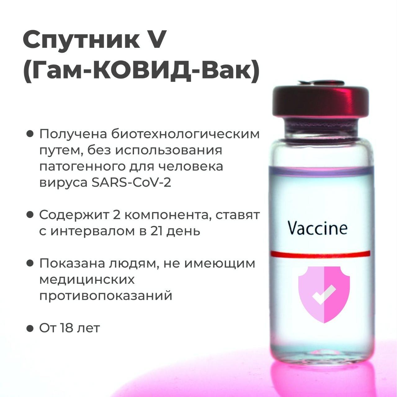 Чем отличаются вакцины от коронавируса друг от