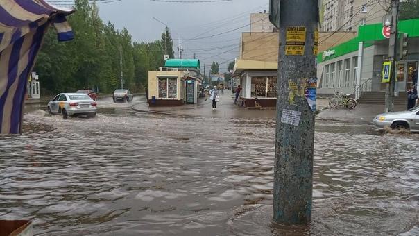 Больше месячной нормы дождей за 3 дня.С 18 по 20 с...