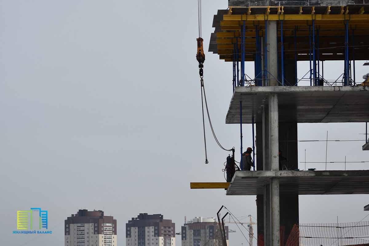 Объем строительства жилья в Беларуси в январе-июле 2021 года