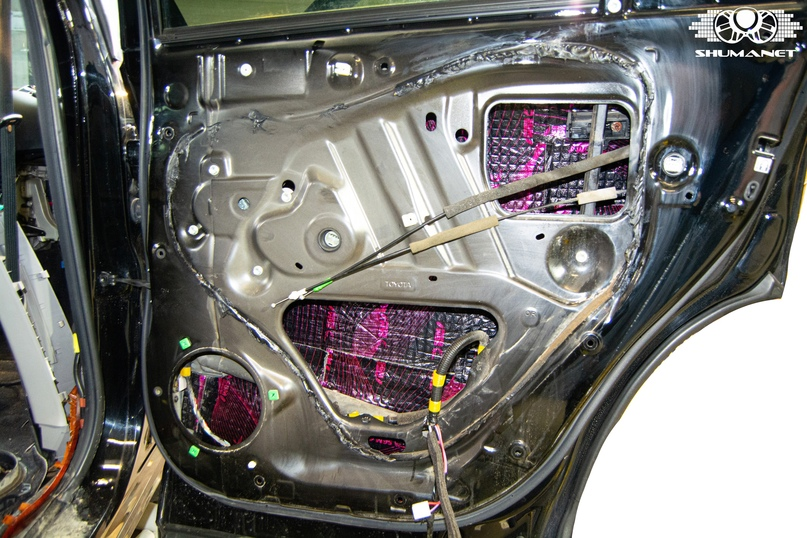 Шумоизоляция Toyota Highlander, изображение №6