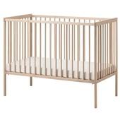 Кроватка детская, бук, 60x120 см