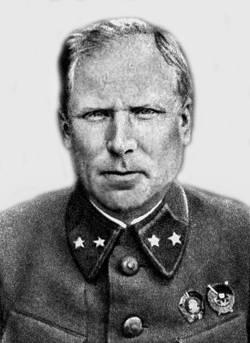 Иван Руссиянов, командир 1-го гвардейского механизированного корпуса
