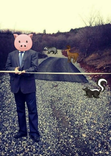 Дорога в 《никуда》От д.Тухун проложили новую асфаль...