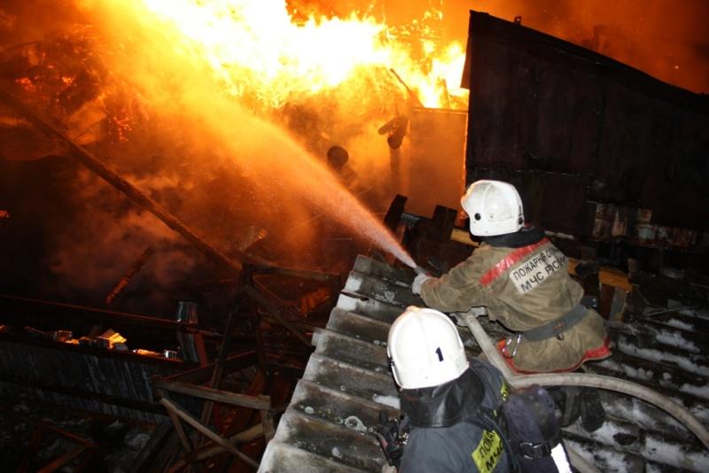 В деревне Волково Талдомского городского округа сгорел дом