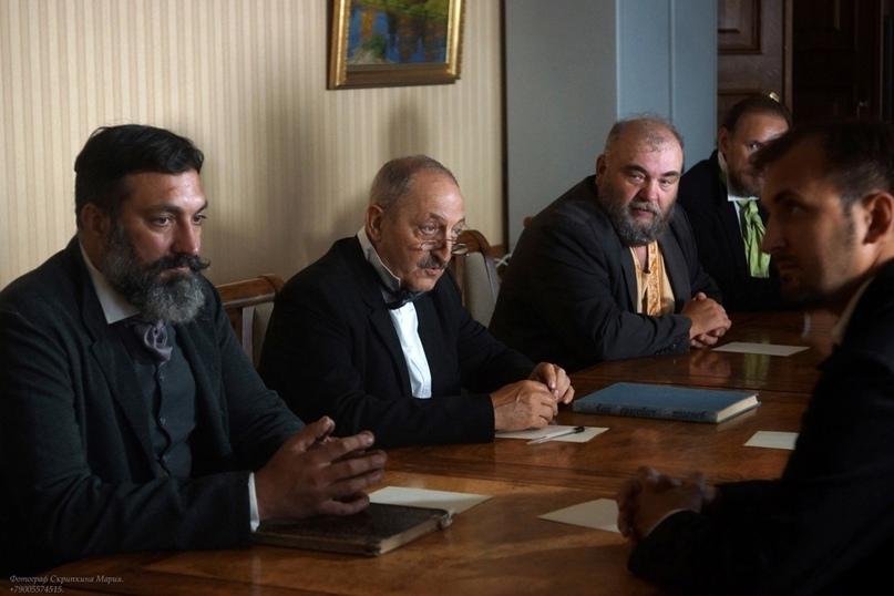 В Вологде продолжаются съемки фильма о Христофоре Леденцове. Главную роль исполн...
