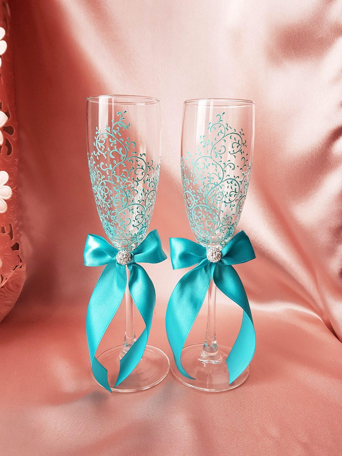 ibZE9EL60pA - Красивые свадебные фужеры