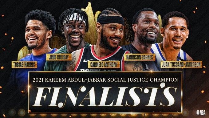 NBA назвала первых 5 кандидатов на награду Карима-Абдул Джаббара