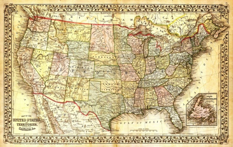 Франция провозгласила своей часть американской территории