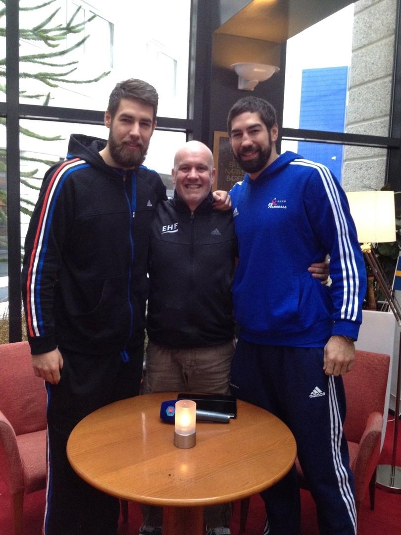С братьями Лукой и Николой Карабатич
