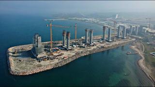 Как тебе такое, Китай? Турки строят самый большой подвесной мост в мире