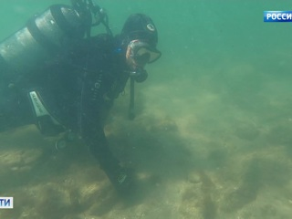 Вести На дне Керченского пролива найден старинный парусник эксклюзивные кадры