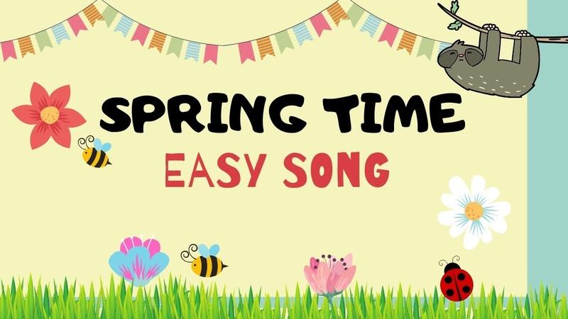Spring Song for kids Easy Monkey Songs