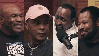 Обязательно к просмотру: Шугар Рэй Леонард, Томми Хернс, Шейн Мозли в гостях у Тайсона | FightSpace