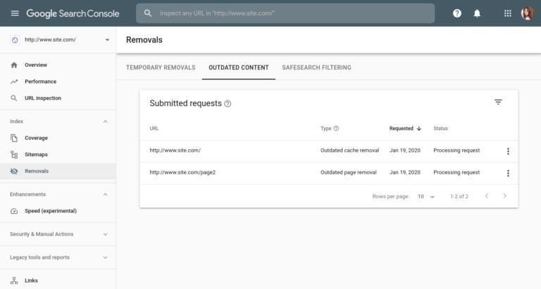 Google делает возможным временное удаление сайтов из результатов поиска, изображение №3