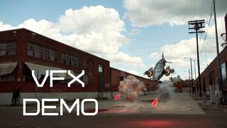 VFX Spaceship. Demo