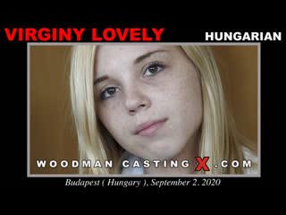 Пьер Вудман рвёт целку и трахает в жопу юную девушку Virginy Lovely (Порно, Анал секс, Ебля, Попки, Минет, Woodman Casting)