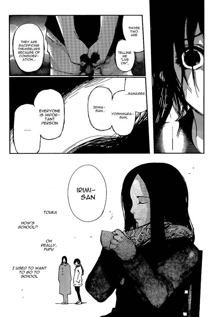 Tokyo Ghoul, Vol.13 Chapter 130 Disappearance, image #10
