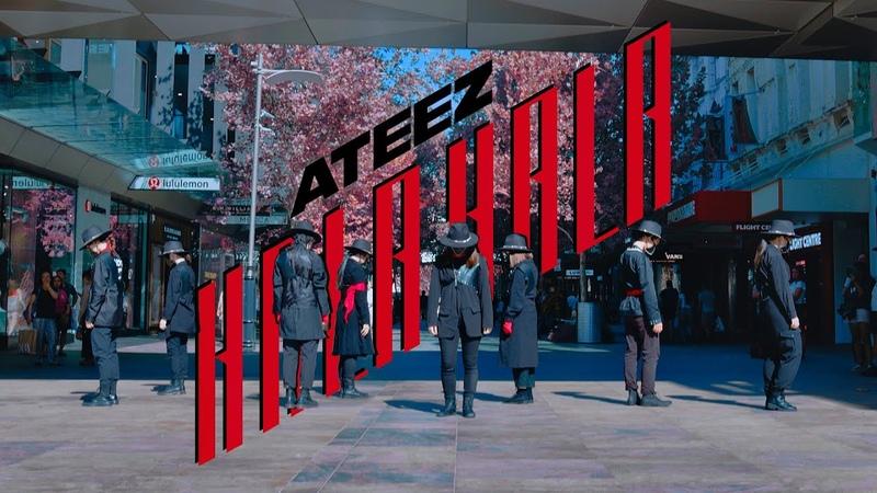K POP IN PUBLIC ATEEZ 에이티즈 HALA HALA Dance Cover AUSTRALIA