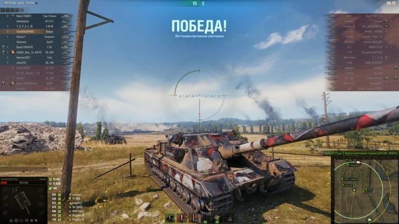 FV217 BADGER 21К УРОНА МИРОВОЙ РЕКОРД WOT