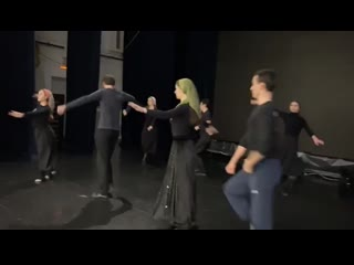 Творческий подарок от народного ансамбля кавказского танца «Горец»