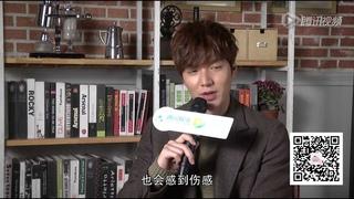 [140123]Lee Min Ho - 140112  Interview at Beijing