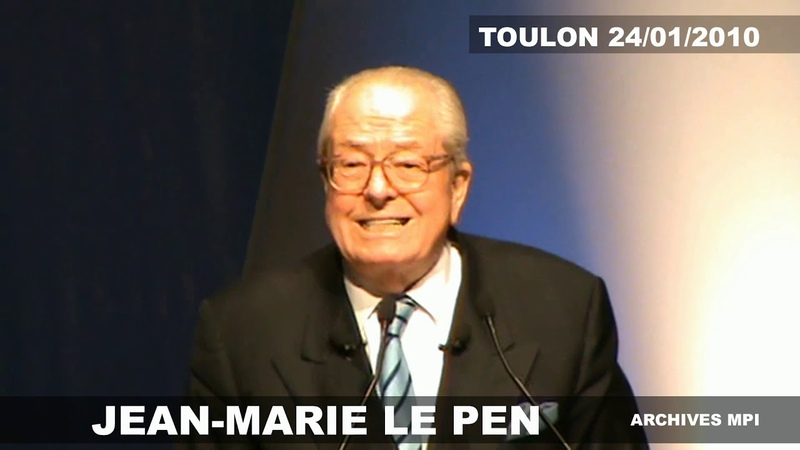 Plus grave que les virus LE PEN à Toulon 2010 Archives MPI TV