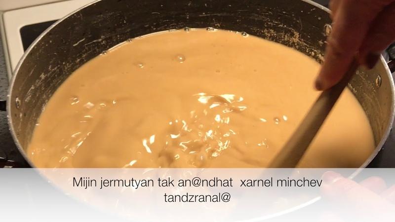 Inchpes patrastel haykakan shujux How to make Armenian Shujux