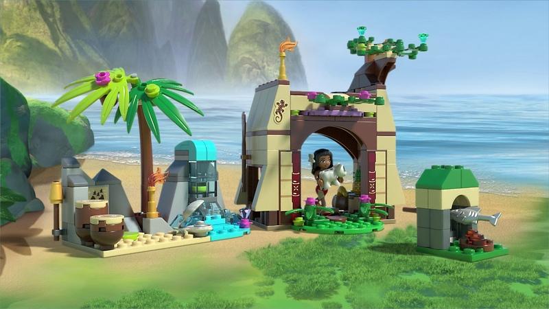 Набор LEGO DISNEY PRINCESS 41149 Приключения Моаны на затерянном острове™